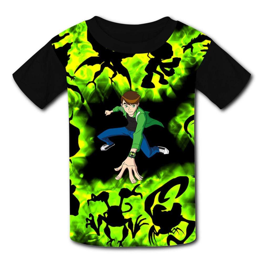 Creative Ben-10 Boy Kids T-Shirts Short Sleeve Tees Summer Tops for Youth//Boys//Girls