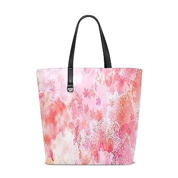 Japanese Flowers Tote Bag Purse Handbag ... - Amazon.com