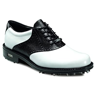 ECCO Mens New World Class Leather Golf Shoes - Waterproof (10.5 UK/45 EUR