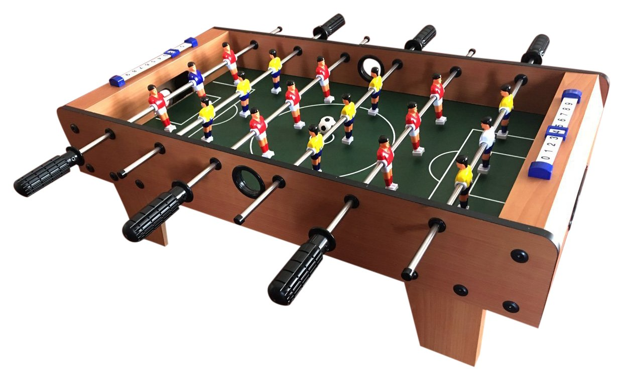 how to play table soccer game