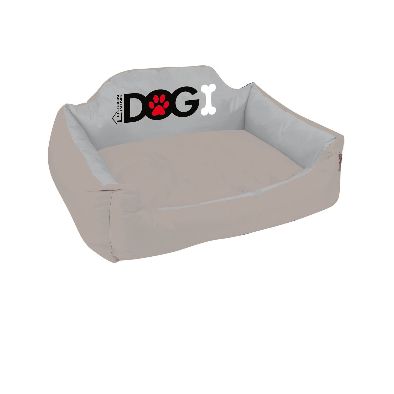 Dogi Cestino per cane imbottito Taglia M – Tortora