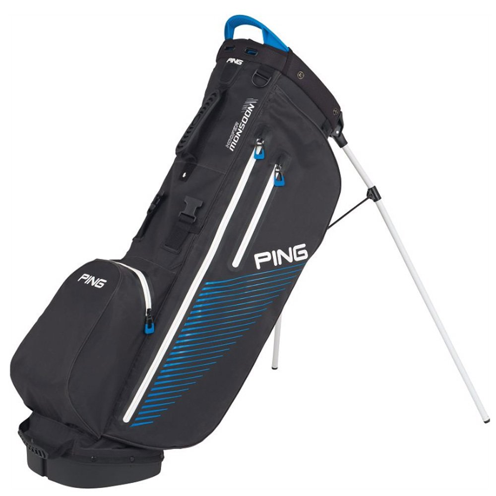 PING Golf Men's Hoofer Monsoon Bag, Birdie Blue/Black