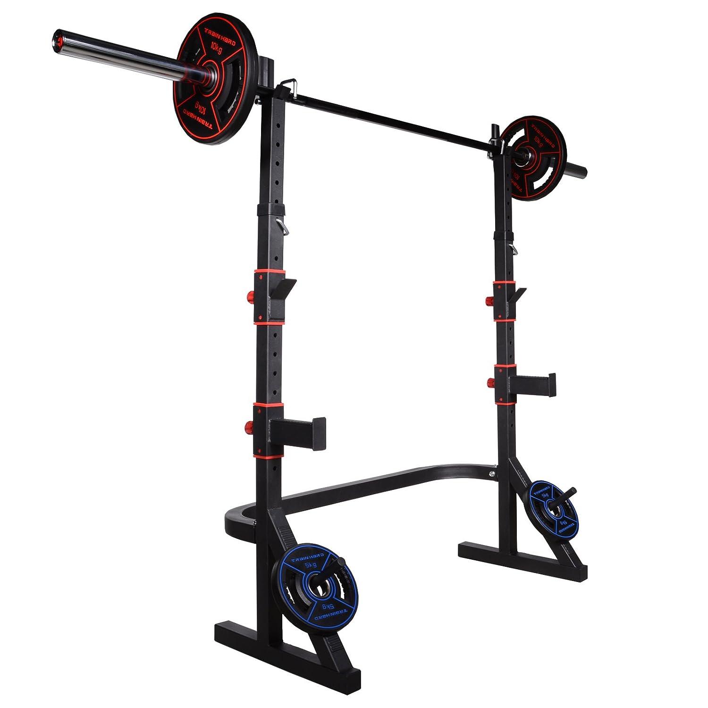 Pesas para halteras de langhantelständer - Pesas (Press de banca SENTADILLA hasta 215 kg: Amazon.es: Deportes y aire libre