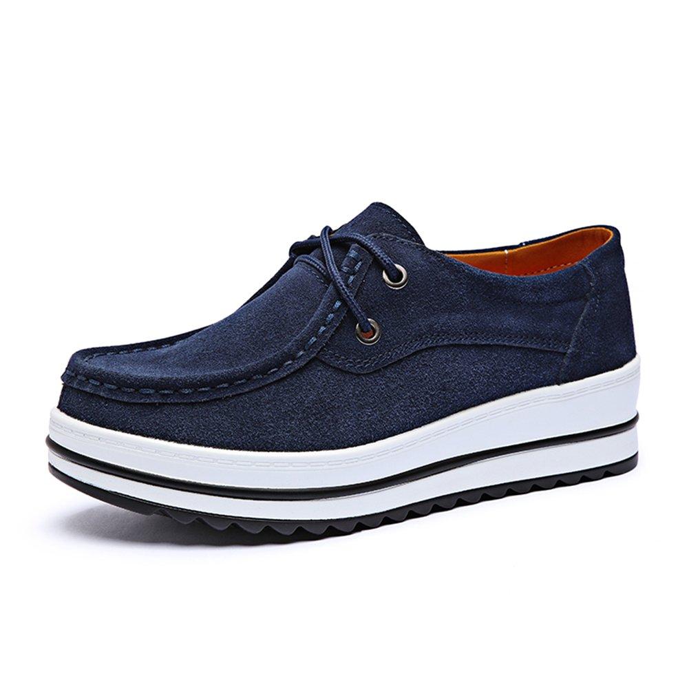 HKR Chaussures de Chaussures Ville à Lacets Pour à de Femme Bleu Marine 9ef5fbf - boatplans.space
