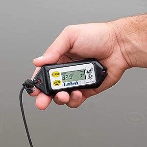 Triple S Sporting Supplies, In Fish Hawk Electronics TD Digital at-Depth Water