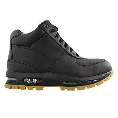 info for 8c9be ad223 Amazon.com   Nike Air Max Goadome ACG Boots Mens Size 6.5 Waterproof  Leather (Black, Light Brown)   Hiking Boots