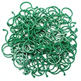 vine tomato - Hysagtek 100 Pcs Garden Plant Support Clips Vegetables Tomato Vine Flower Clips Plant Locks for Securing Plants