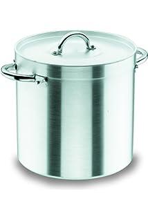 Marmite traiteur 100 litres Ø 50 cm x Haut 50 cm aluminium avec couvercle  Vacances de Noël be66033fc4ae