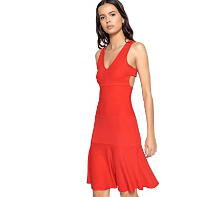 cd137ef2cb La Redoute Collections Womens Fitted Dress with Strappy Back&Nbsp ...