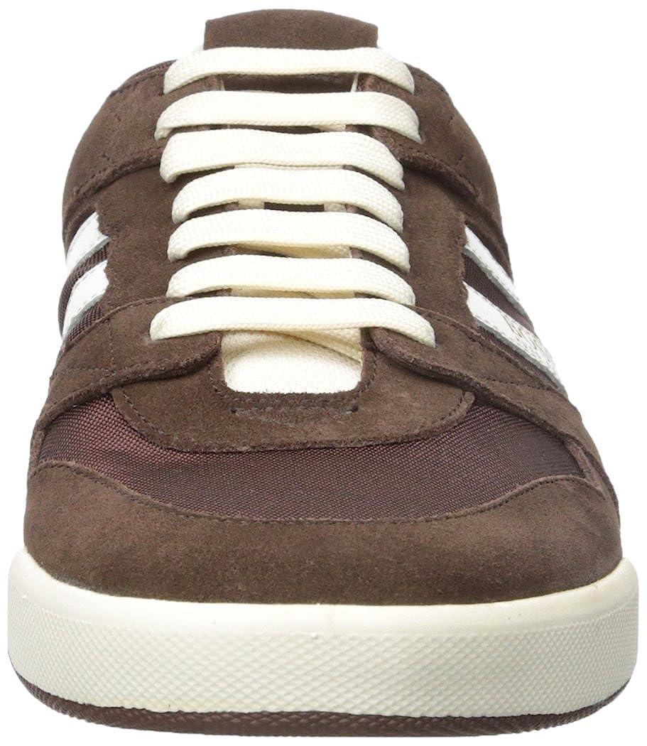 Hugo Boss Men's Stillness Suede Fashion Mesh Sneaker B0722LLCHP Fashion Suede Sneakers 242dcb