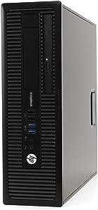 HP EliteDesk 800G1, Intel Quad Core i5 3.2 GHz, 16GB RAM, 512GB SSD, Windows 10 Professional, DVD, Wi-Fi, Bluetooth (Renewed)