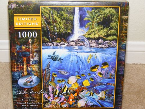 Christian Riese Lassen**ETERNAL RAINBOW SEA**1000 piece Jigsaw Puzzle