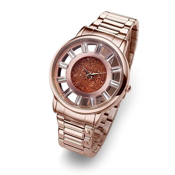 Oliver Weber Reloj Reims rosegold Cristales de Swarovski