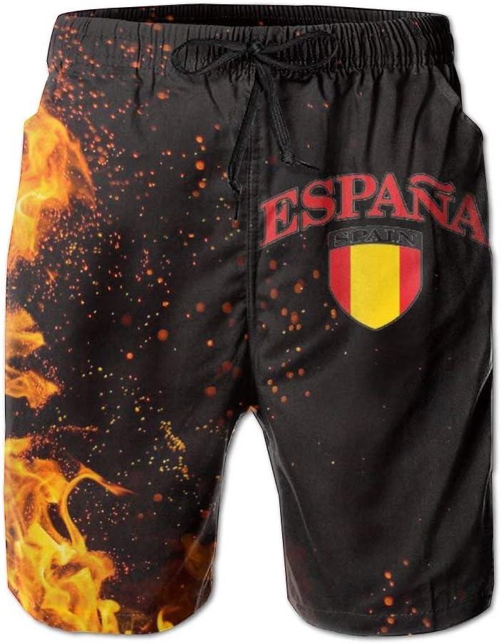 Espana Flag - Bañador para hombre, diseño de bandera de España: Amazon.es: Juguetes y juegos