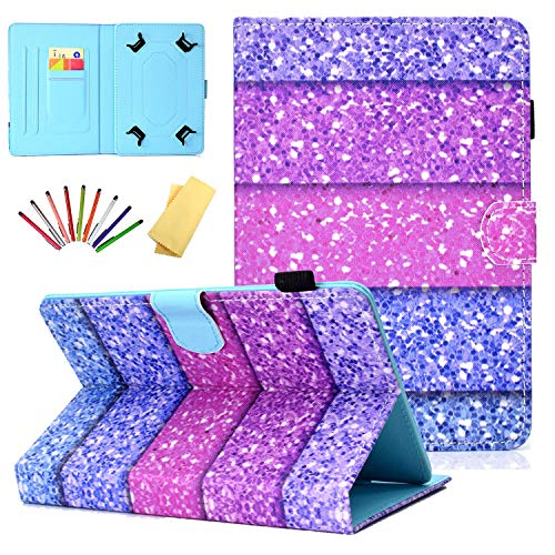 Uliking Universal Case for 9.5-10.5 inch Tablet, Stand Card Pencil Holder Cover for Samsung Galaxy Tab A/E/S4/S2/4/3 9.6