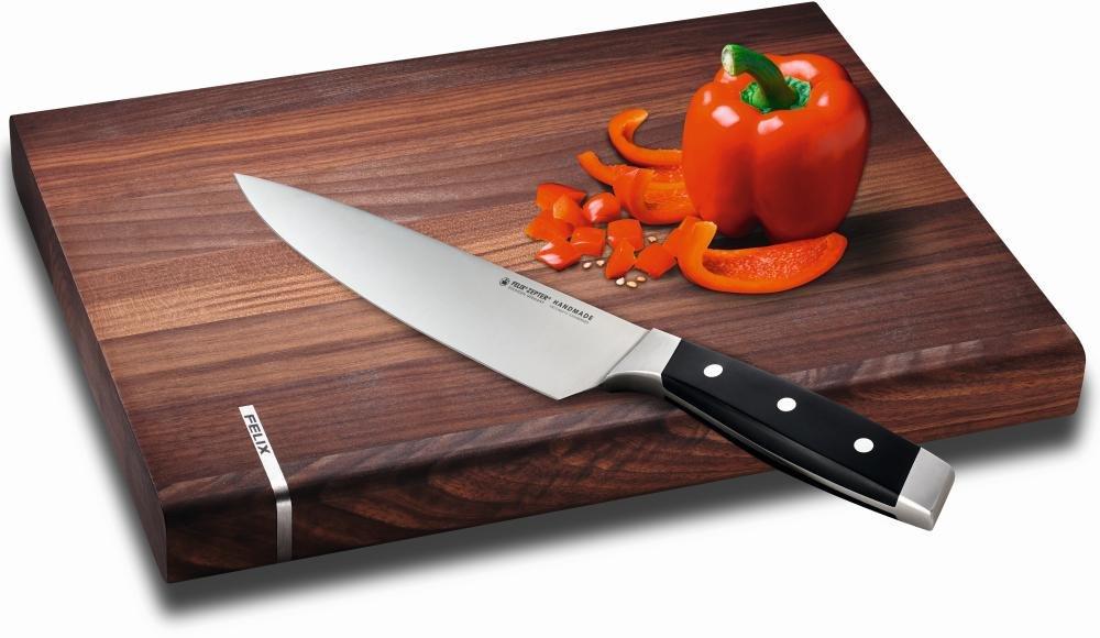 Felix Tabla de cortar, nogal, 40x 30x 4cm, madera, marrón, 40x 30x 4cm 809100
