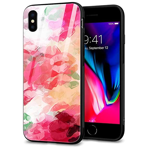 Amazon Com Iphone Xr Case For Girls Cute Case 9h Tempered