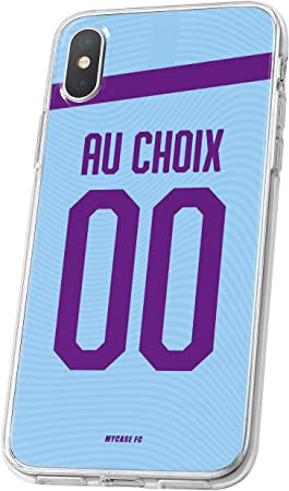 MYCASEFC Coque Foot Manchester City iPhone XR Coque Football ...