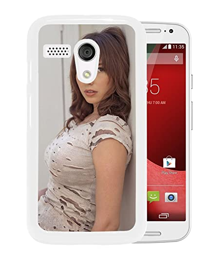New Custom Designed Cover Case For Motorola Moto G With Shay Laren Girl Mobile Wallpaper