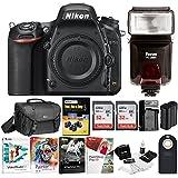 Nikon D750 DSLR Camera Body with 64GB Kit Case + Battery and Bundle