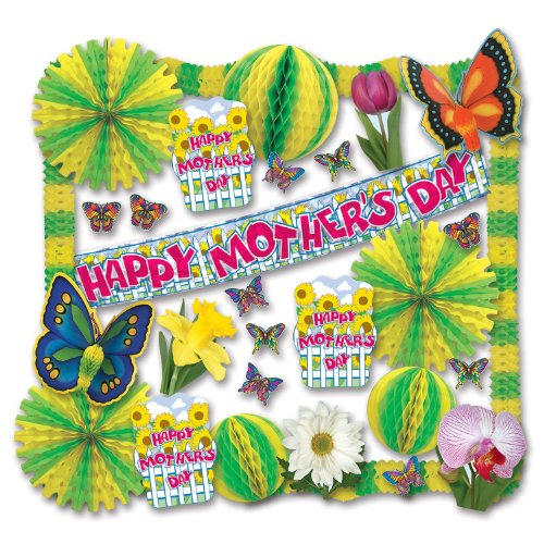 Mother's Day Decorating Kit - 30 Pcs Party Accessory (1 count) by Beistle
