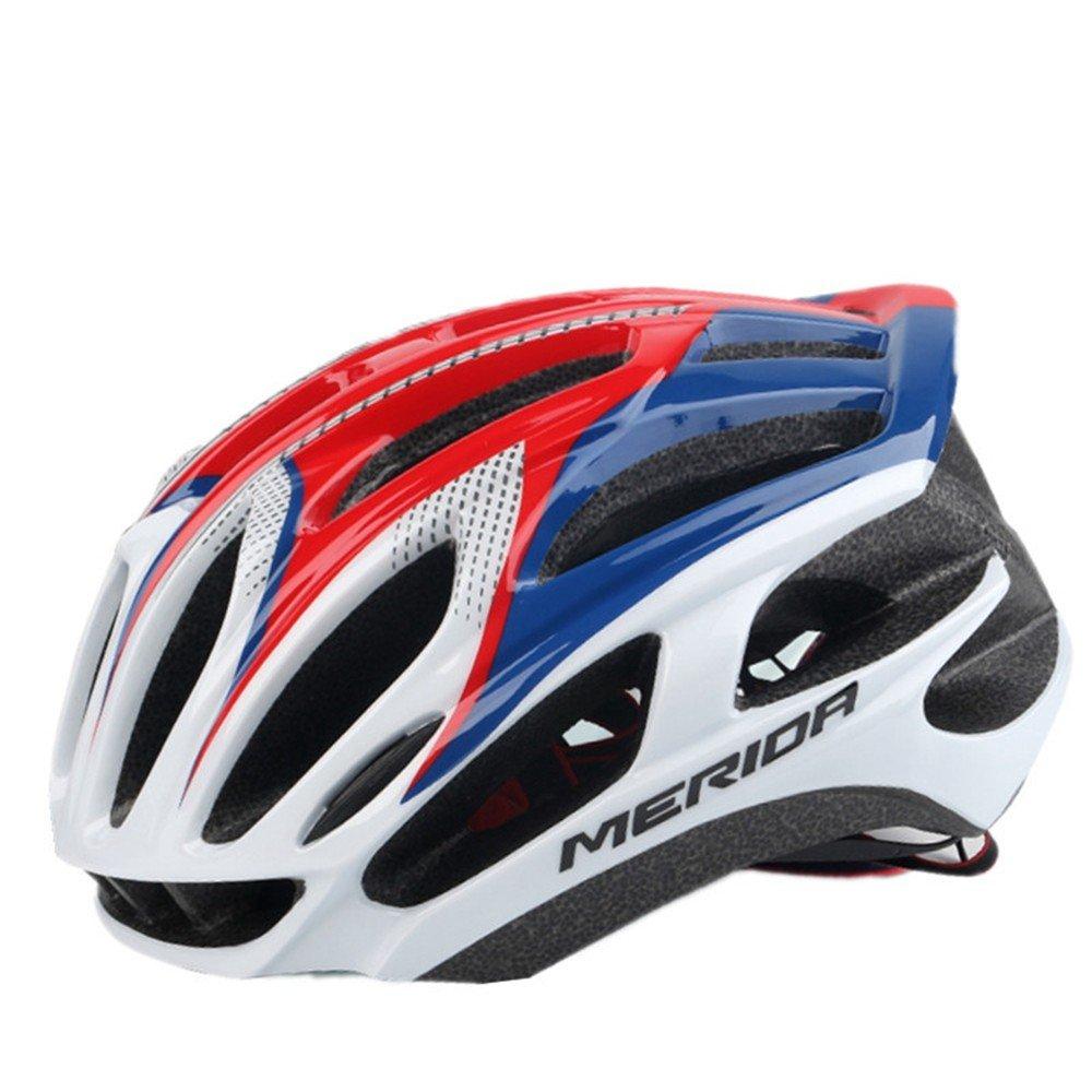 LOLIVEVE Fahrradreithelm Mountainbike Tragbarer Sportschutzhelm Bequeme Fahrt Im Freien Verstellbares Atmungsaktives Rennauto.