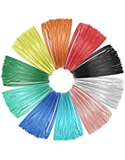 OVBBESS 10 Stuk 3D Printer Filament voor 3D Print Pen Multicolor Pack 1.75mm Polymelkzuur