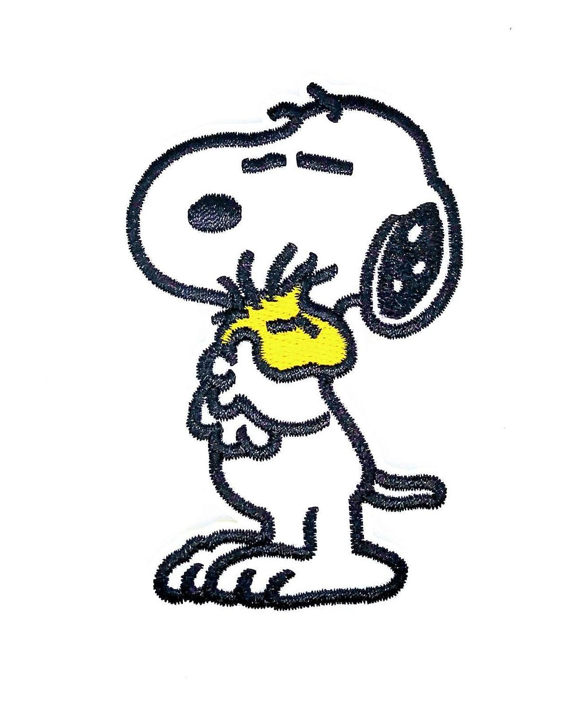 Parche Termoadhesivo Snoopy 8x5cm
