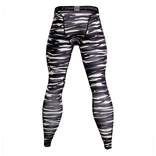 14a067129e21c Sharemen Compression Tights Men's Casual Trousers Sports Pants(Asian S = US  XS,Gary