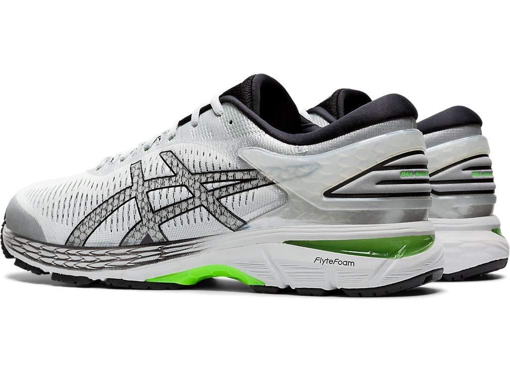 ASICS Men's Gel-Kayano 25 Running Shoes, 7M, Mid Grey/Green Gecko by ASICS (Image #1)