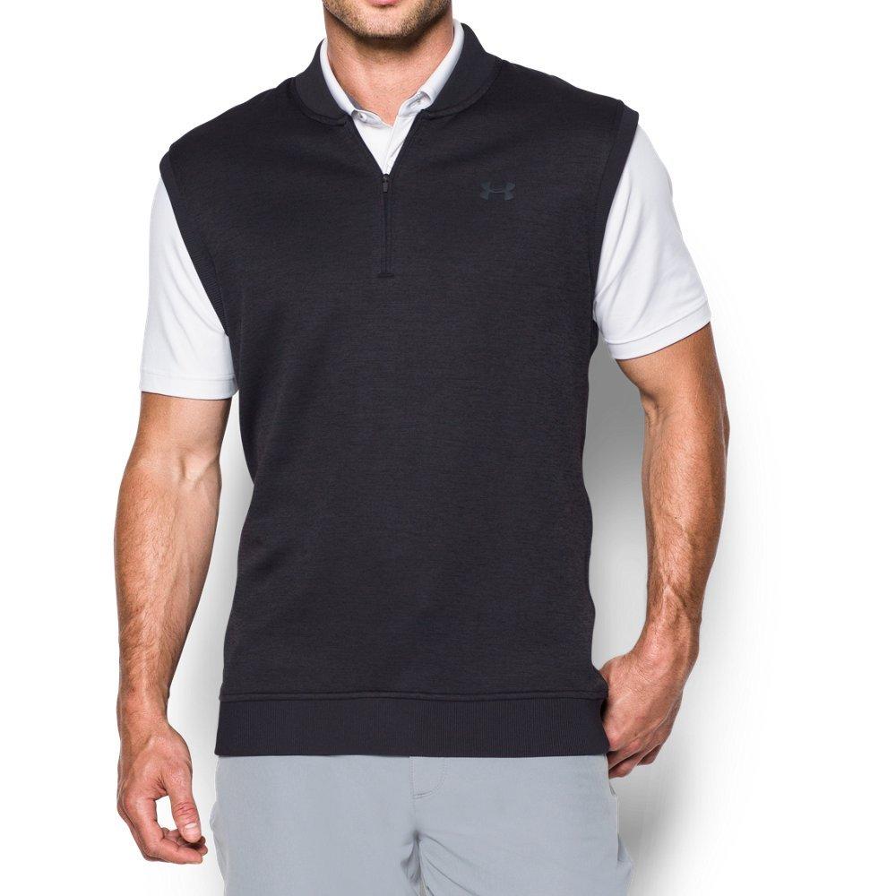 Under Armour Men's Storm SweaterFleece Vest, Asphalt Heather/Asphalt Heather, Small by Under Armour