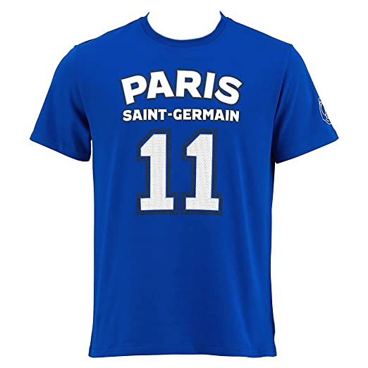 178e1e7f95ad3 Amazon.com: PSG - Official Paris Saint-Germain 'Di Maria' Men's T ...