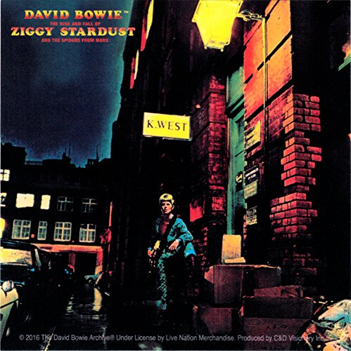 Licenses Products David Bowie Ziggy Stardust Sticker by Licenses Products ()