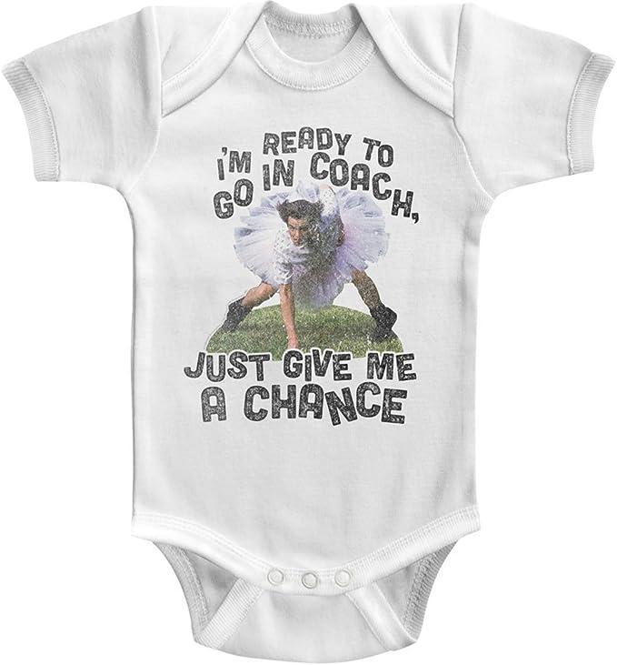ACE VENTURA Infant Baby Short Sleeve BODYSUIT WHITE READY