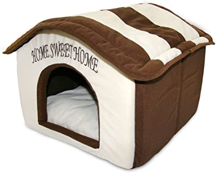 Portable Indoor Pet House Best Supplies Cream Pet Supplies