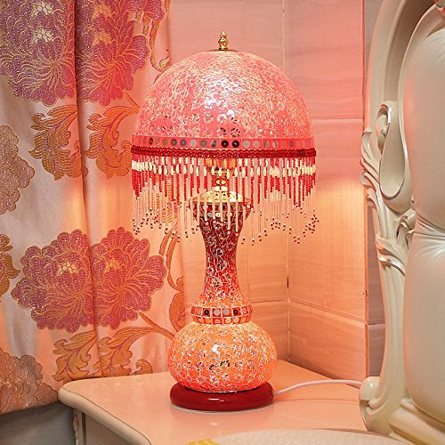 HH European Style Table Lamp Bedroom Bedside Creative Luxury Lighting by FJB (Image #5)