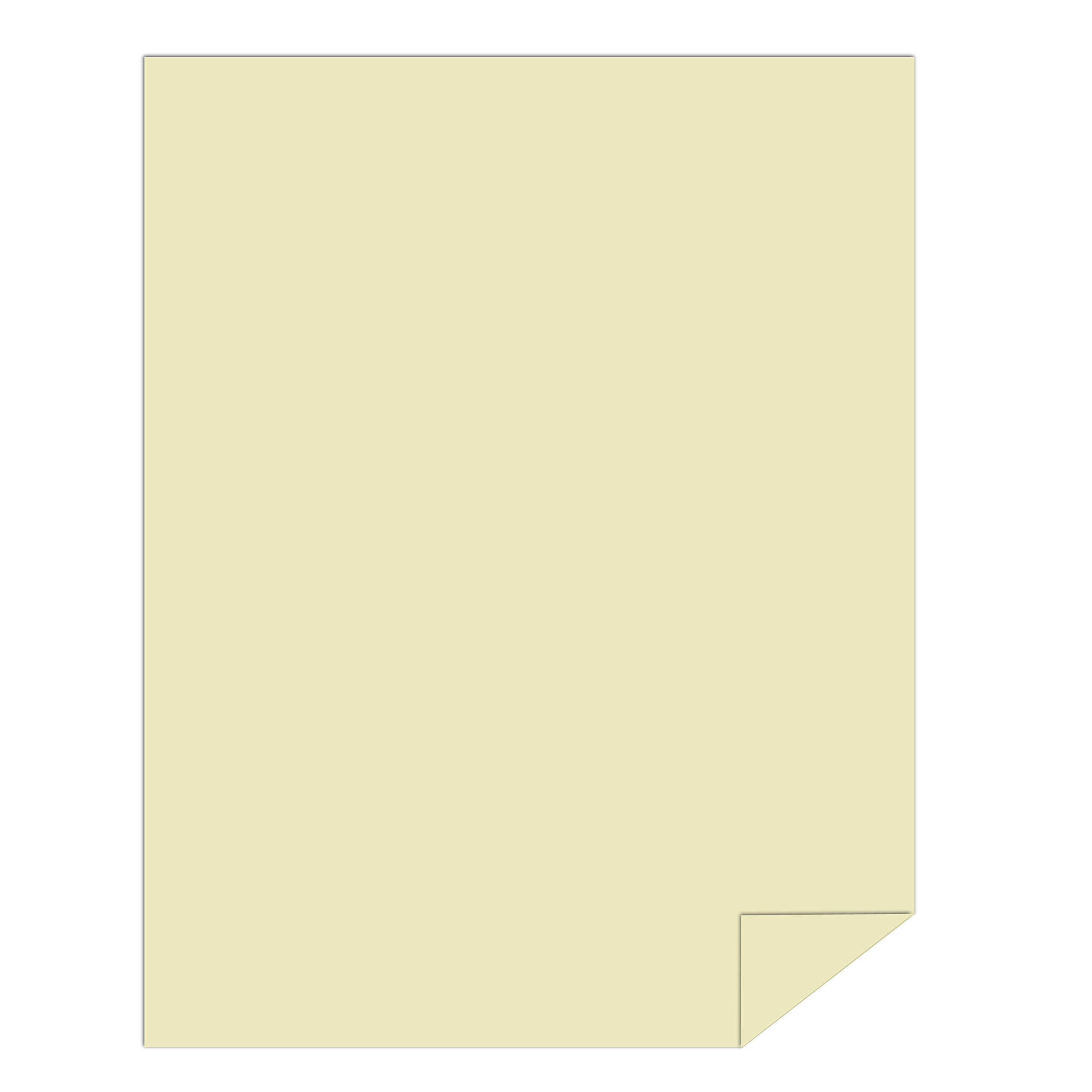 Springhill Colored Paper, Heavy Paper, Ivory Paper, 24/60lb, 89gsm, Ledger, 11 x 17, 4 Reams / 1,000 Sheets - Opaque, Thick Paper (024049C) by Springhill (Image #2)