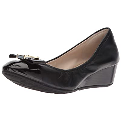 Cole Haan Women's Emory Bow Wedge (40mm) Pump | Platforms & Wedges