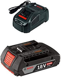 Bosch BC1880 18V Lithium-Ion Battery Charger with 2.0 AH battery