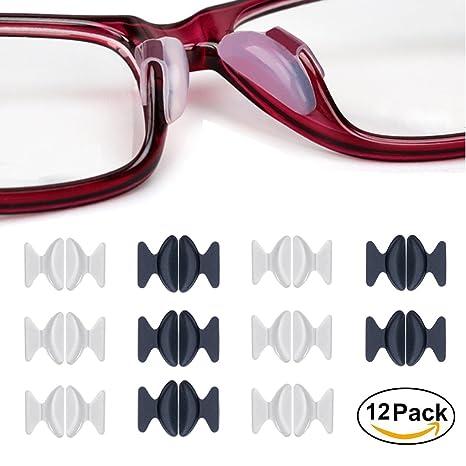 De 1 Adhesive 8mm Lunettes Silicone Non Mm Antidérapant12 Nose Pads 5 Slip Nez Vue2 En Soleil Pour Coussinets Paires K3TcJF1l