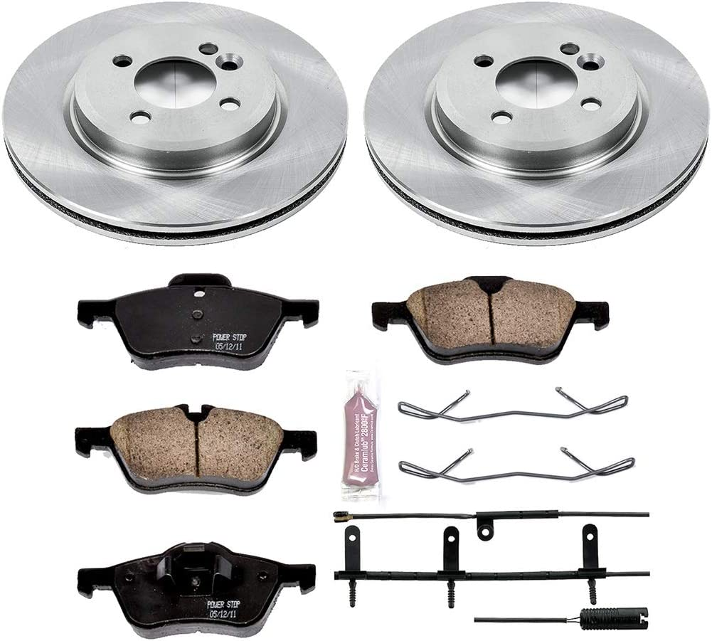 Autospecialty KOE1872 1-Click OE Replacement Brake Kit Power Stop