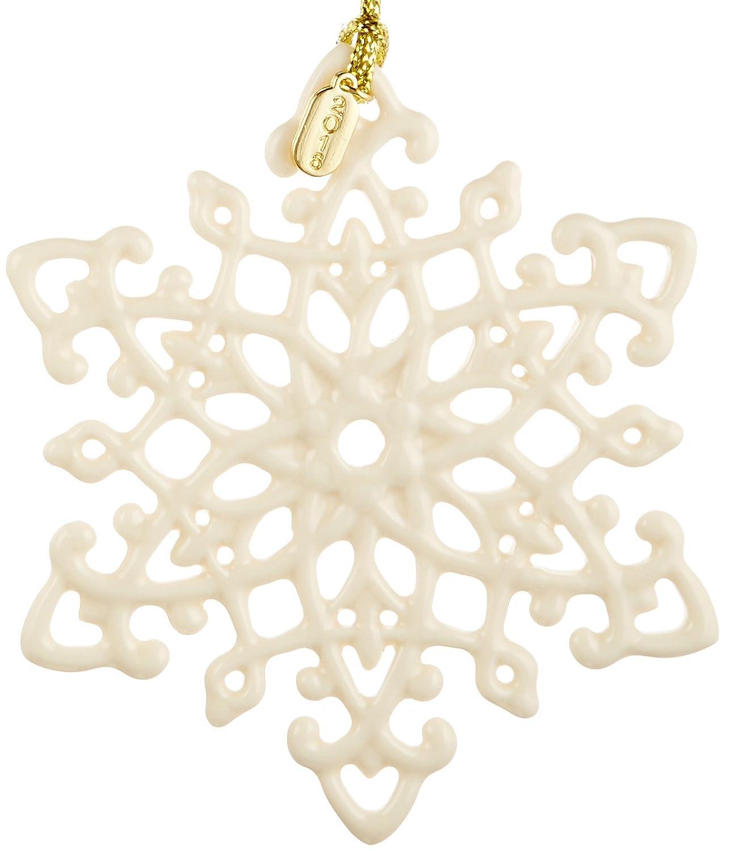 amazon com lenox 2016 snow fantasies snowflake ornament home