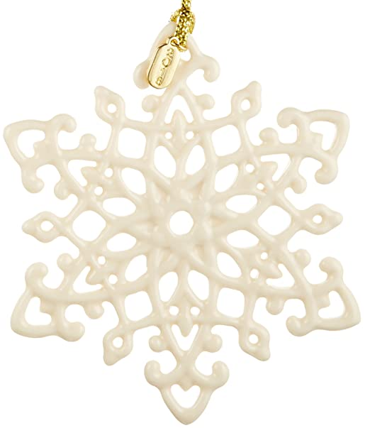 Lenox 2016 Snow Fantasies Memento Snowflake Ornament