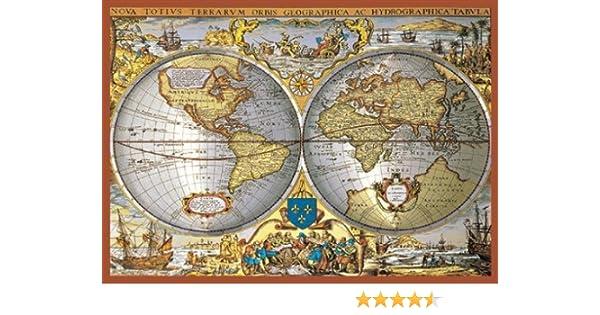Amazon piatnik world map metallic jigsaw puzzle 1000 pieces amazon piatnik world map metallic jigsaw puzzle 1000 pieces toys games gumiabroncs Image collections