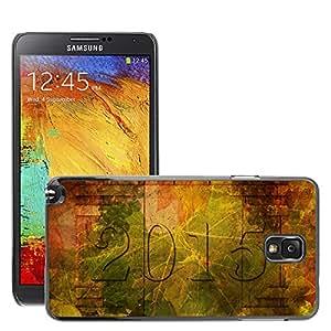 Etui Housse Coque de Protection Cover Rigide pour // M00153087 Vino Vino Fiesta de la Vendimia de // Samsung Galaxy Note 3 III N9000 N9002 N9005