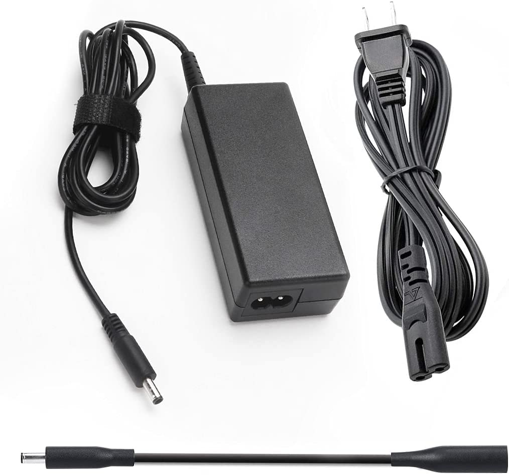 65W 45W Replacement Laptop Charger Fit for Dell Inspiron 15-3000 15-5000 15-7000 11-3000 13-5000 13-7000 17-5000 XPS 13 Series 5559 5558 5755 5758 AC Adapter Power Supply Cord