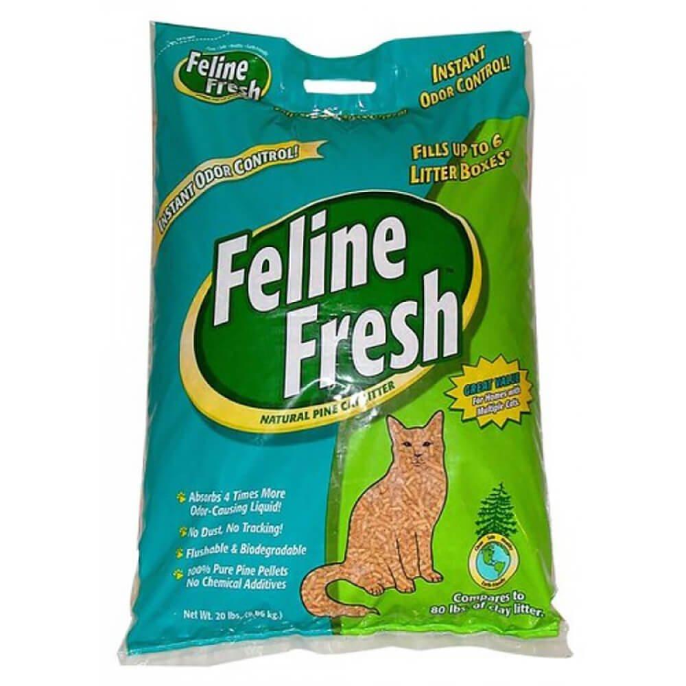 Feline Fresh Pelleted Pine Cat Litter