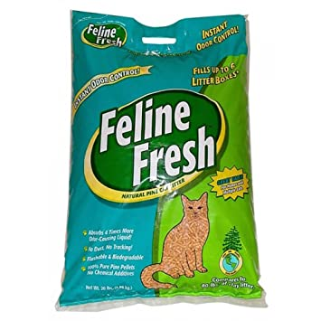 Feline Fresh Naturals Pine Cat Litter, 20 lbs