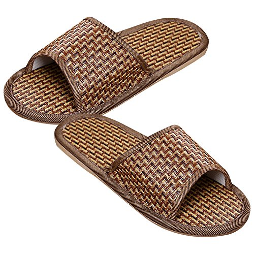 Rattan Cool Natural Bamboo Home Slippers Rosesummer 8vUO6x