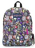 Jansport Superbreak Backpack (painted stones)